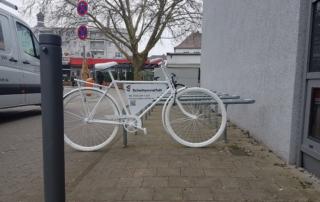 Fahrrad Werbung Schattenvielfalt