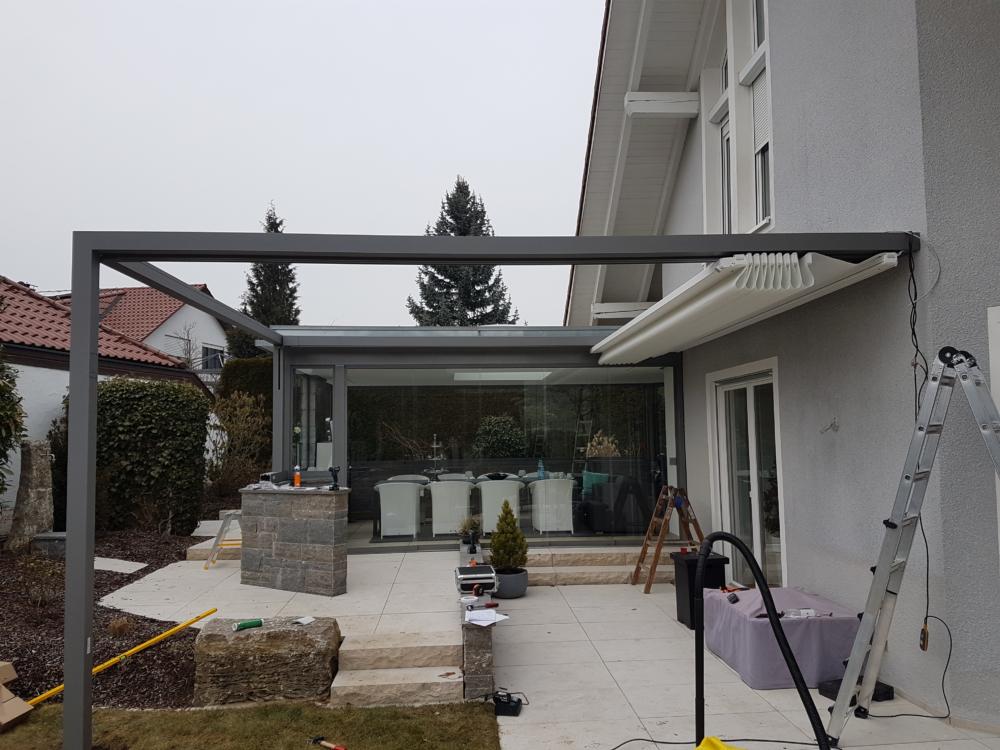 Terrassendach sunrain q