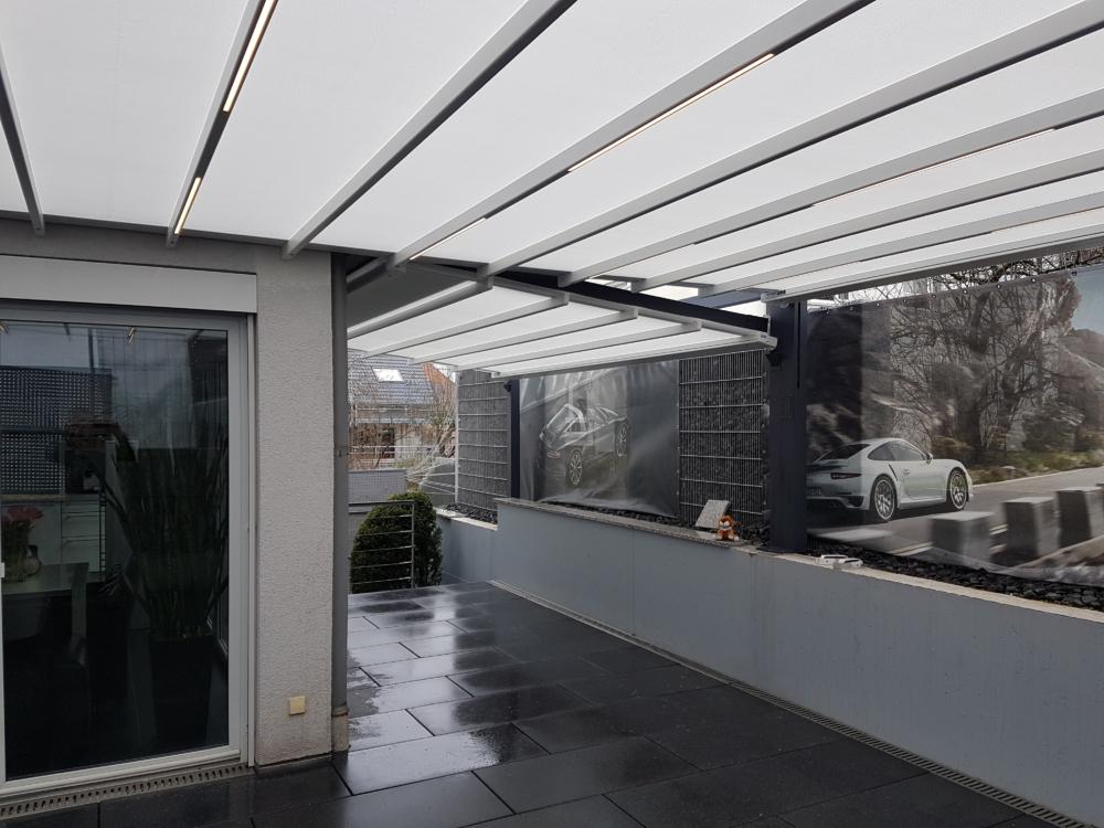 Terrassendach sunrain q überdachung