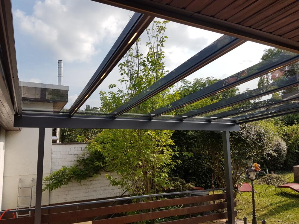 Terrassendach Area Schattenvielfalt