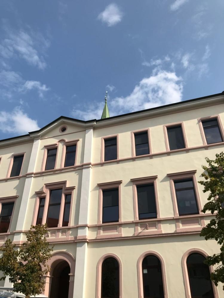 Schule Senkrechtzip