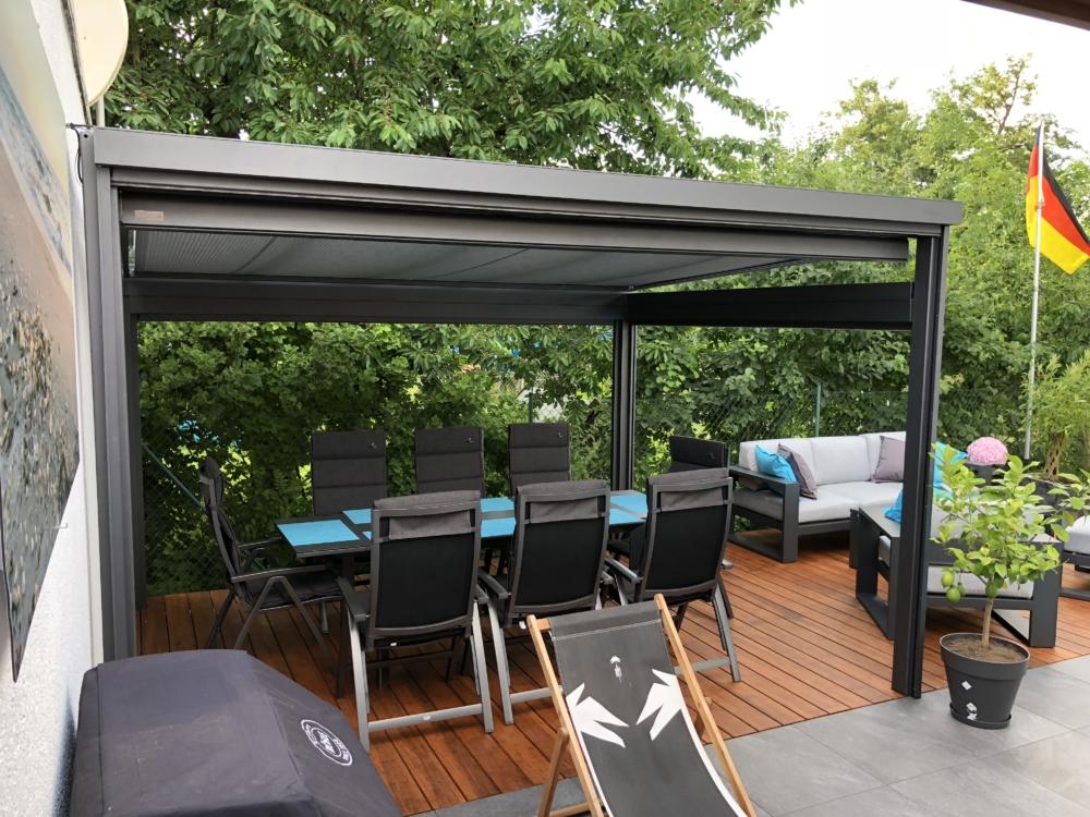 Area Terrassendach Sonnenschutz