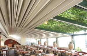 Markise Dach ausziehbar Gastro Restaurant