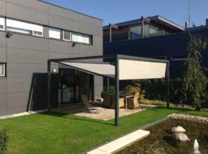Markise Haus Anthrazit Garten Gestell