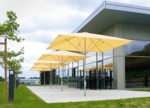 Sonnenschirm gelb Schirm