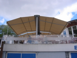 schöne Aussichten Balkon Terrasse Restaurant Gastro