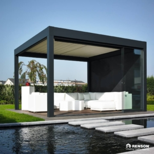 Wasser Dach Überdachung Sessel Sommer Sonnenschutz