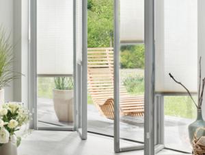 Terrasse offen Fenster Sonnenschutz
